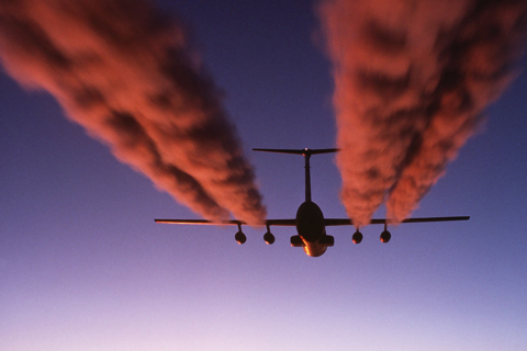 fly forurening