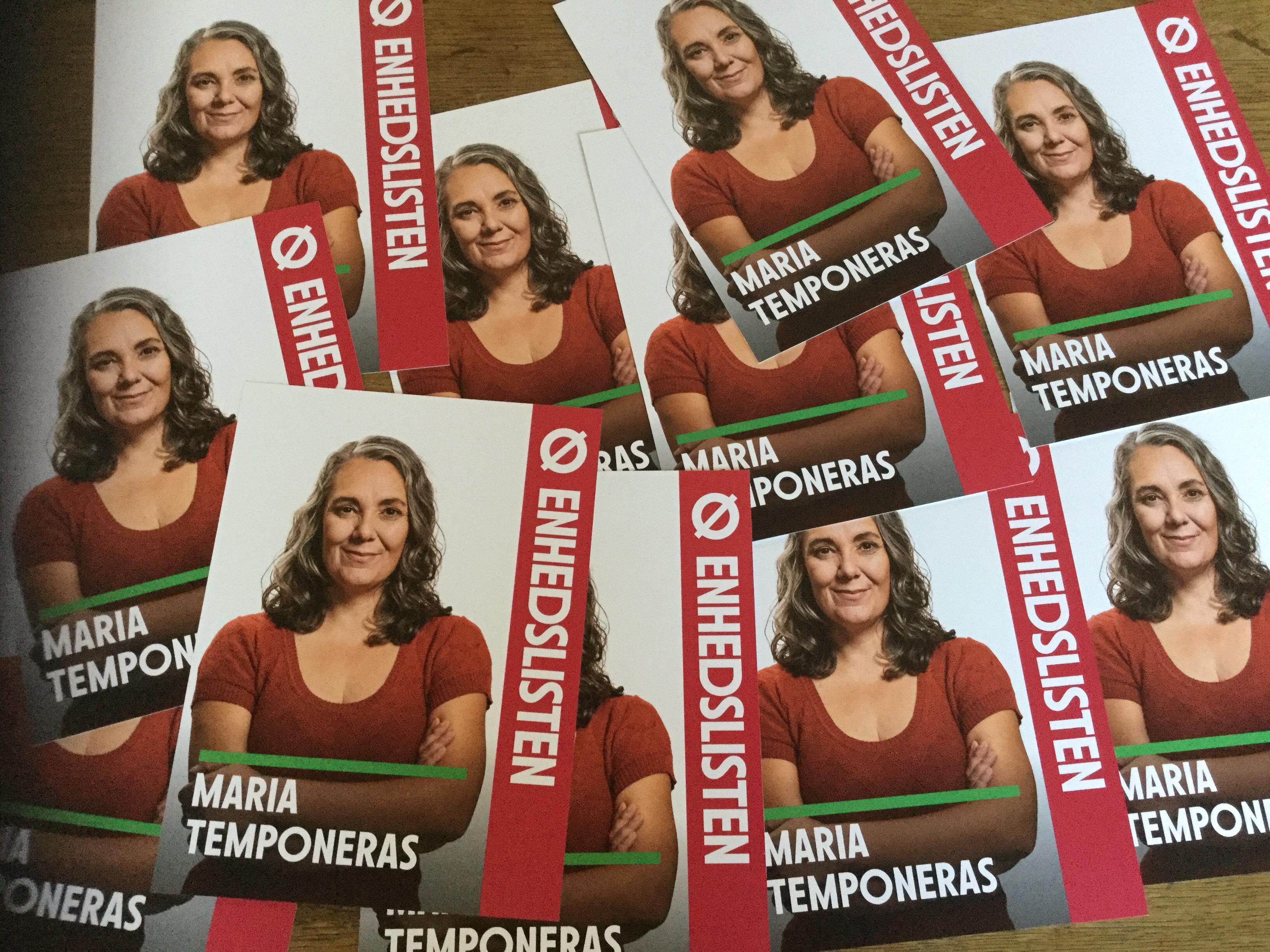 Maria Temponeras folketingsvalg