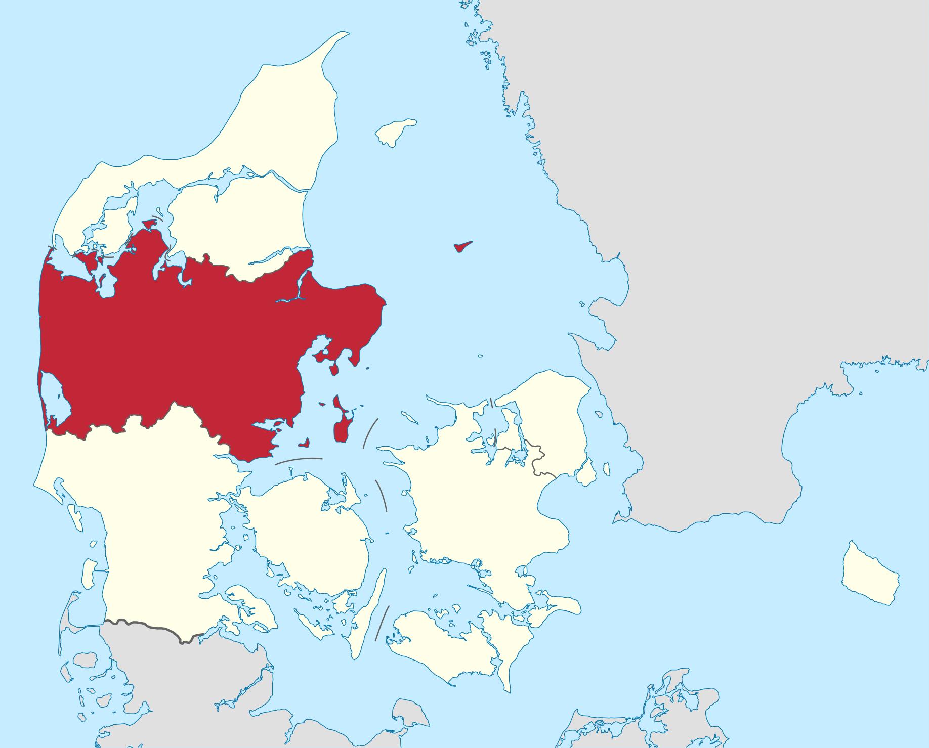 Af TUBS - Eget arbejdeVektorgrafikken blev lavet med Adobe Illustrator..This file was uploaded with Commonist.• based on File:Denmark location map.svg by NordNordWest, CC BY-SA 3.0, https://commons.wikimedia.org/w/index.php?curid=14339170